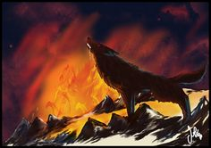 Fenrir by juls_gg, via Flickr