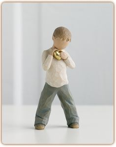 Heart of Gold - WILLOW TREE FIGURINES -