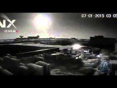 videos La noche en Bucarest se volvió día al explotar un meteoroide