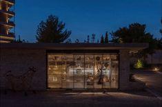 Benaki Museum Pavilion: Το νέο πωλητήριο του Μουσείου Μπενάκη – My Review Blinds, Garage Doors, Curtains, Outdoor Decor, Home Decor, Decoration Home, Room Decor, Shades Blinds, Blind