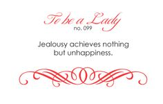 To Be A Lady: 099