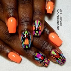"""387 Likes, 5 Comments - Get Some Nelle-zazz in Yo Life (@nellesnails) on Instagram: """"Hey Nails!  #nailclub #naillady #nailsart #clean #showmethemani #naillife #nellezazz #sweet…"""""""