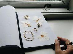 Styling by quyen showing Darling Hoop Earring Fine Large Gold, Harlequin Zirconia Ring Gold, Cross Ring Gold, Bubble Ring Blue Small Gold, Bubble Ring Green Small Gold, Bubble Ring Black Small Gold and Eternal Blue Zirconia Half Ring Gold #jewellery #Jewelry #bangles #amulet #dogtag #medallion #choker #charms #Pendant #Earring #EarringBackPeace #EarJacket #EarSticks #Necklace #Earcuff #Bracelet #Minimal #minimalistic #ContemporaryJewellery #zirkonia #Gemstone #JewelleryStone #JewelleryDesign…