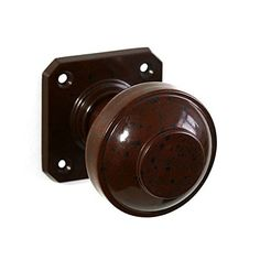 BROLITE 6815 Real Bakelite Door Knobs Walnut: All our BROLITE real Bakelite pieces are based on original designs from early to century and un Door Latch, Door Knobs, Knobs And Handles, Door Handles, Keyless Locks, Steel Rims, Round Door, Round Design