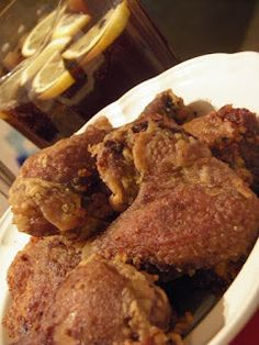 Cynical Cuisine: Sweet Tea Fried Chicken