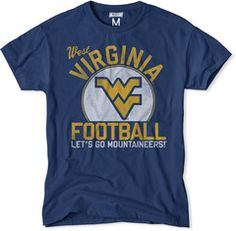 West Virginia Mountaineers Football Tee