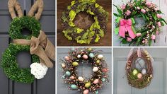 An amazing collection of 16 Welcoming Handmade Easter Wreath Ideas You Can DIY To Decorate Your Entry that will give you ideas you can use.