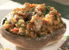 Scottish Stuffed Mushrooms Recipe: Cook Vegetarian Magazine
