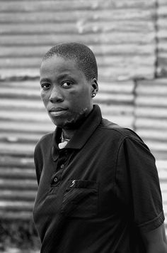 """Such attacks have been the driving force behind the work of South African photographer and visual activist Zanele Muholi, whom we commissioned to photograph Lungile Cleopatra Dladla, a survivor of """"corrective"""" rape and one of the subjects of Hunter-Gault's piece. """"In the face of all the challenges our community encounters daily,"""" Muloli told me, """"I embarked on a journey of visual activism to insure that there is black queer visibility."""""""