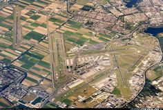Excellent shot of Amsterdam Schiphol Airport via Airliners.net