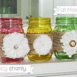 Fall Mason Jars #CraftyJars
