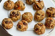 Веганский десерт для идеального воскресного вечера: миниатюрные морковные шарики