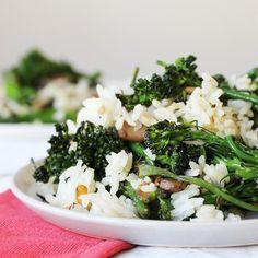 ... broccoli, rapini or broccoli rabe. We love broccolini's sweet flavor