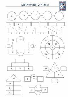 Kostenloses Arbeitsblatt 1.Klasse Mathematik Subtraktion in 2018 ...