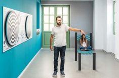 Εκθέσεις – Museum of Illusions Indoor Things To Do, Urban Stories, Family Fun Magazine, Orlando Parks, Greek Design, Family Apartment, Scale Design, Collage Illustration