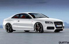Audi RS5. White please.