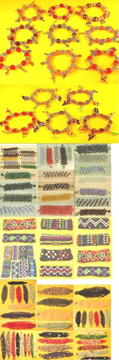 Mixed Lots 64503: 100 Pcs Beads Bracelets Rice Beads,Charm,Color Bead Wholesale Mixed Lot BUY IT NOW ONLY: $80.0