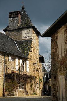 Turenne, Limousin, France           #places #travel #holiday