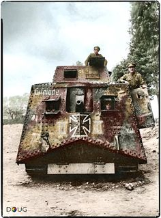 German tank, WWI