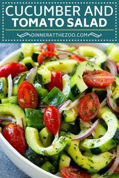 Cucumber Tomato Sala