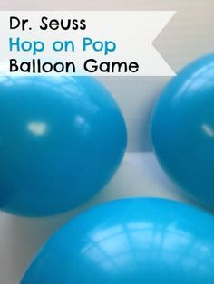 Dr Seuss Balloon Pop game sounds like a blast! I think this is going to be the best idea for fun party activities. Dr Seuss Balloon Pop game sounds like a blast! I think this is going to be the best idea for fun party activities. Dr Suess Games, Dr Seuss Activities, Party Activities, Summer Activities, Party Games, Sequencing Activities, Toddler Activities, Motor Activities, Dr. Seuss
