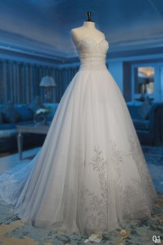 Great idea for the bottom of the dress, not to up on the bodice.