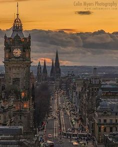 A glorious night up Calton Hill earlier this year; sun shining, birds singing, next to no breeze…………and a blazer of a sunset as the ball of life preserving energy descended for the day in glorious fashion over Princes Street. The age old thoroughfare...