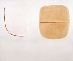 William Scott, Segments on a Light Ground, 1976, Oil on canvas, 63.5 × 76 cm / 25 × 30 in, Whereabouts unknown