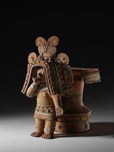 Anthropomorphic Table Creator: Culture Jama-Coaque Date: 500 B.C. - 1530 AD