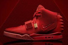 """e09e17a7df8e1c Nike Air Yeezy 2 """"Red October"""" von Kanye West  Nach 15 Minuten ausverkauft! Rote  SchuheSchöne ..."""