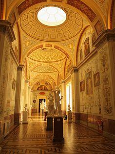 Hermitage Museum St Petersburg.Russia