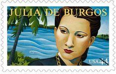 La autora de este poema es Julia de Burgos. Ella es también el único carácter en la obra, pero dos lados diferentes de ella se aparecen.