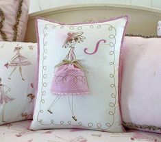 Pillows with a spring mood
