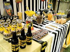Batman birthday party- for boys