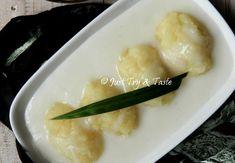 Resep Singkong Thai JTT Pudding Recipes, Dessert Recipes, Desserts, Indonesian Food Traditional, Tapioca Cake, Thai Recipes, Cooking Recipes, Resep Cake, Coconut Oatmeal