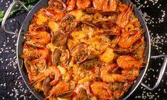 Y un arroz en paella como este? Y si es en Valencia, mejor que mejor.