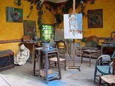 Atelier de Monet, Giverny, France