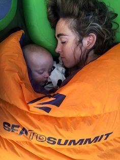 Tips and Gear To Take Your Newborn Outdoors mom sleeping with young baby camping Camping With A Baby, Diy Camping, Beach Camping, Family Camping, Tent Camping, Camping Hacks, Outdoor Camping, Camping Ideas, Camping Store