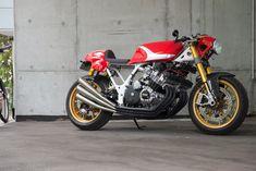 Honda CBX RAW Cafe Racer ~ Return of the Cafe Racers