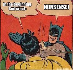 Nonsense! Lol!