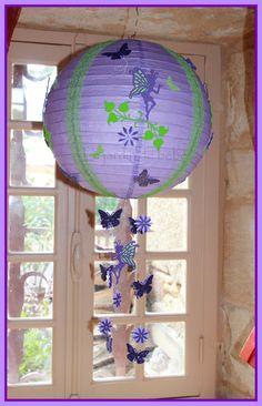 suspension boule chinoise parme personnalisable : Décoration pour enfants par le-jardin-de-bebe