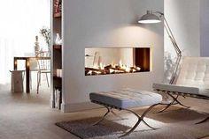 Decofilia Blog | 48 chimeneas modernas para la separación de espacios