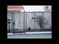 Gate Design, Door Design, Loft Bed Desk, Security Gates, Lounge Chair Design, Iron Gates, Outdoor Living, Outdoor Decor, Entry Hall