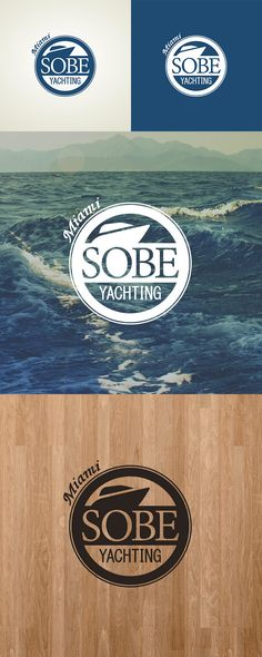 Logo design and branding for SOBE Yachting.