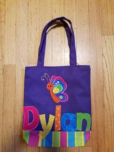 preschool personalized kids tote bag girl tote bag nursery school
