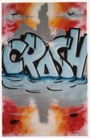 Reflections by Graffiti Artist CRASH (John Matos), painted in 1983. Looks like he predicted something...?