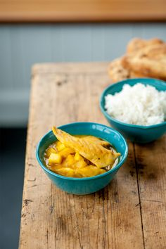The sweetness of apple and pineapple are the perfect fruity foil for the mild spicing of Mark Dodson's chicken curry. Simple to make, all this vibrant bowl needs is some fluffy rice and perhaps some naan bread on the side.