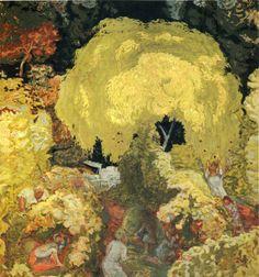 Pierre Bonnard (Fr. 1867-1947), Automne, la cueillettes des fruits, 1912, huile sur toile, 364 x 347 cm, musée des Beaux-Arts Pouchkine, Moscou