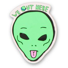 Rip N Dip We Out Here Sticker from zumiez.com on Wanelo