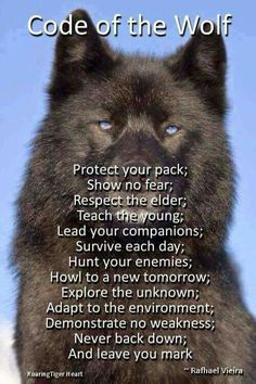 Live by the wolf code